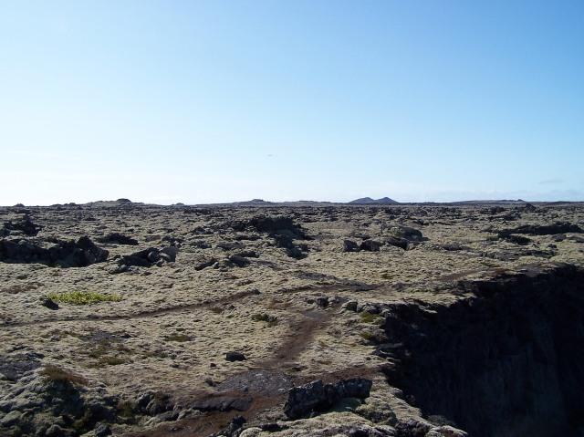 Lava field, Reykjanes Peninsula