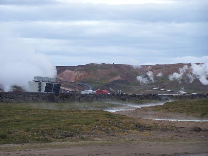 Krafla Geothermal Station