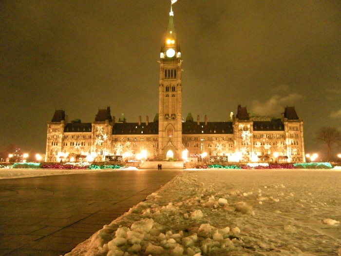 Parliament is pretty, especially in winter