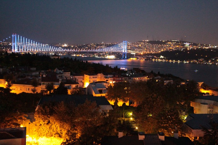 The beautiful Bosphorus Strait