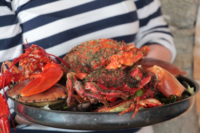 Shellfish extravaganza at Eithna's by the Sea