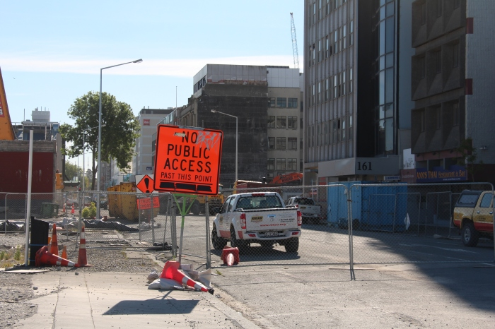 Parts of Christchurch still resemble a war zone