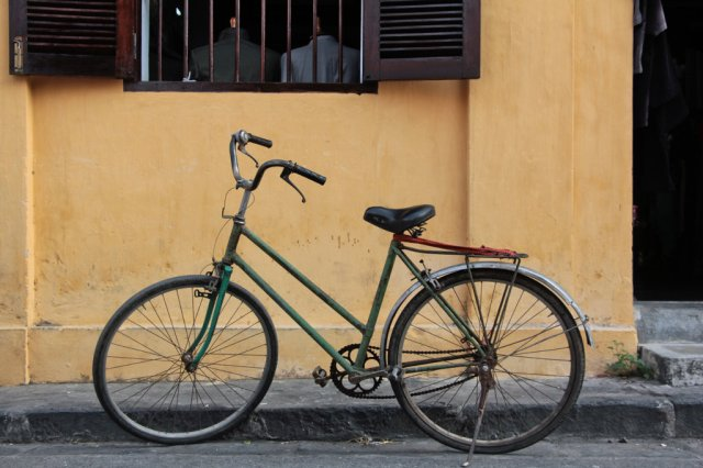 Hoi An is best experienced on two wheels