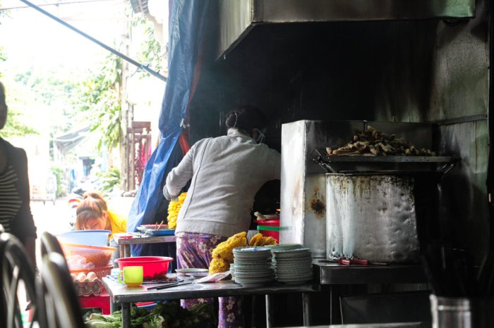 You'll smell the food cooking before you even find the restaurant