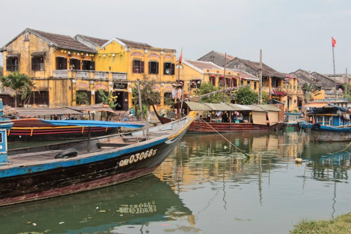 Hoi An is pretty much the prettiest place you'll ever see