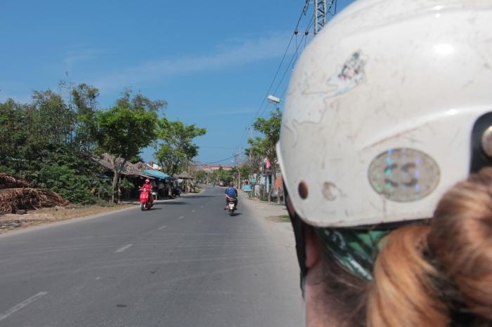 Hopping on a motorbike in Hoi An is far easier than in Hanoi